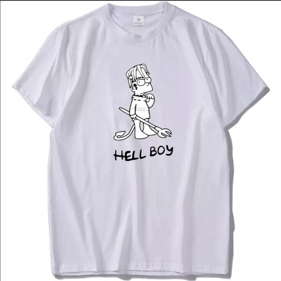 360c5a56 Shirts | Mens Lil Peep Hellboy White Tee | Poshmark